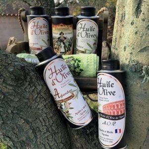 Coffret huile d'olive