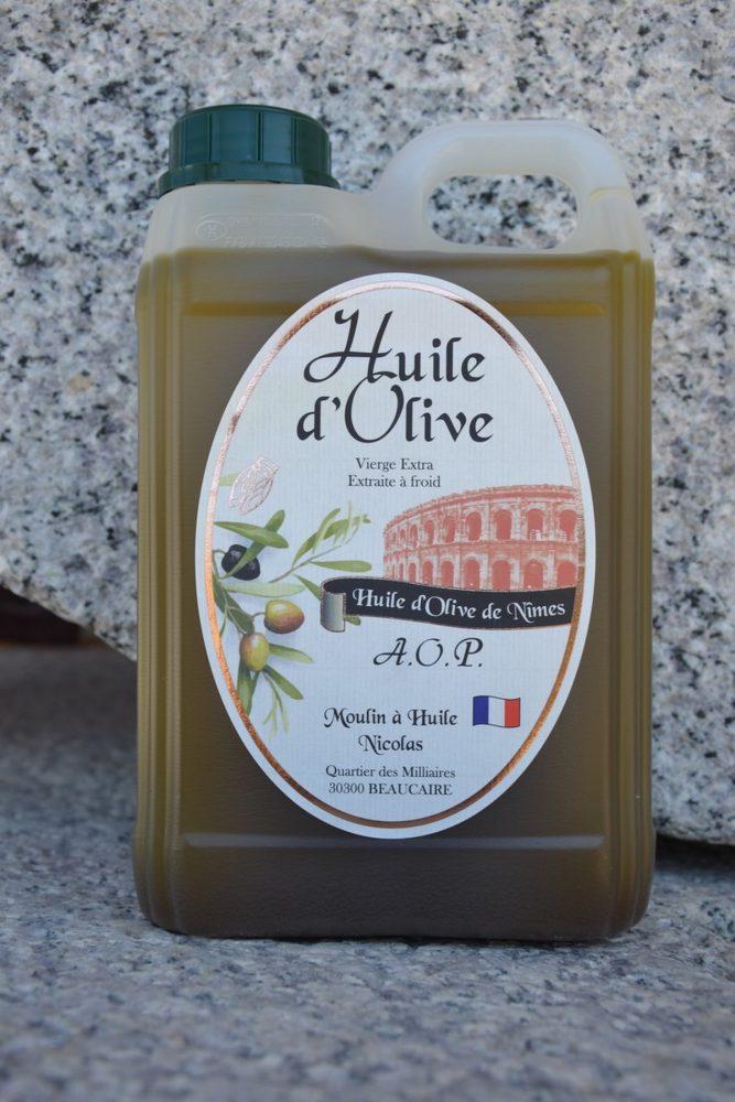 Huile d'olive « AOP de Nîmes »
