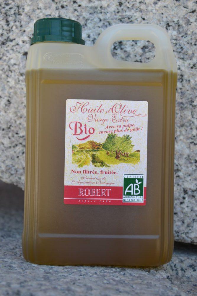 Huile d'olive Biologique Non filtrée ROBERT