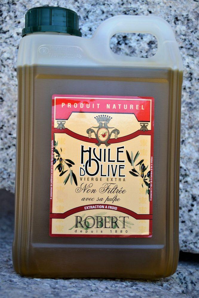 Huile d'olive non filtrée ROBERT