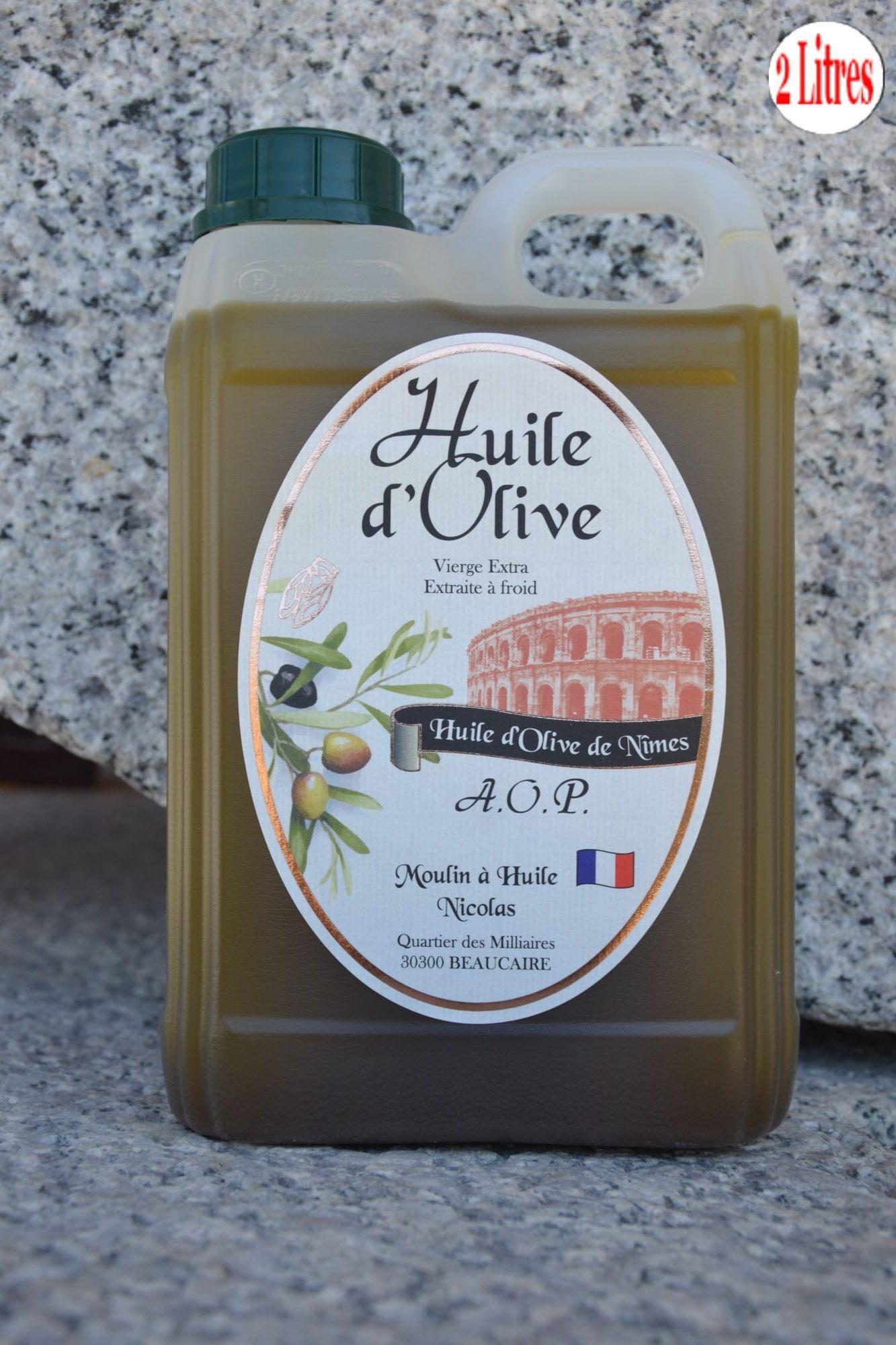 Huile d'olive « AOP de Nîmes »Huile d'olive « AOP de Nîmes »