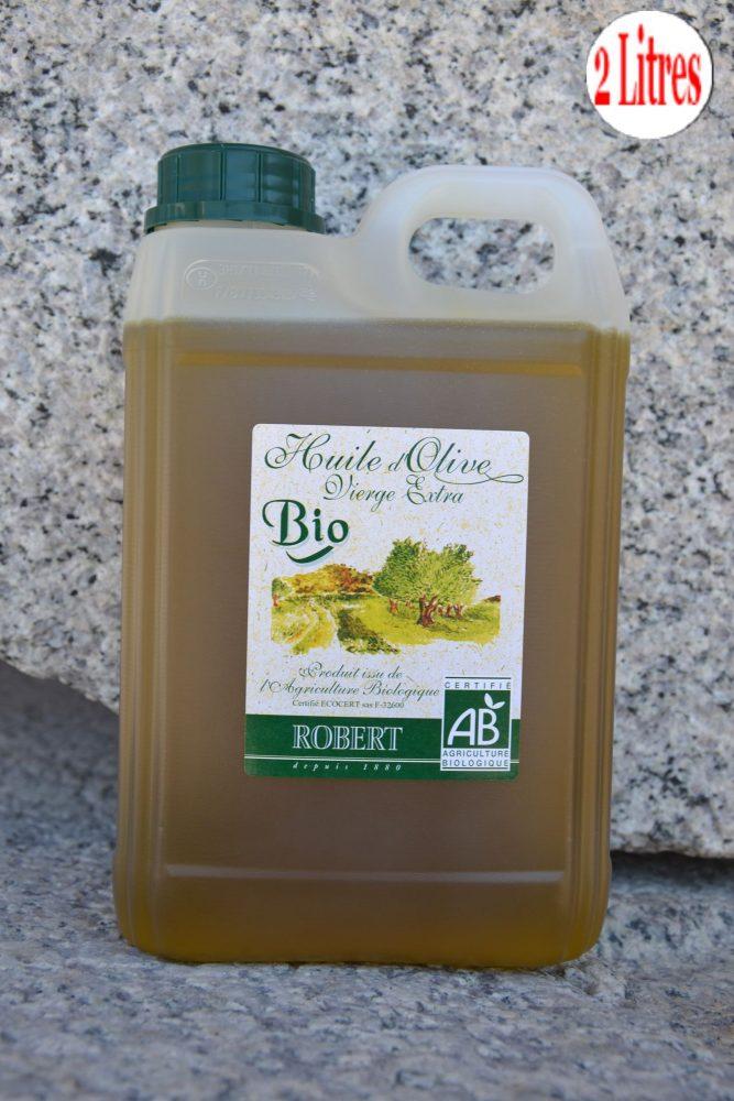 Huile d'olive biologique ROBERT