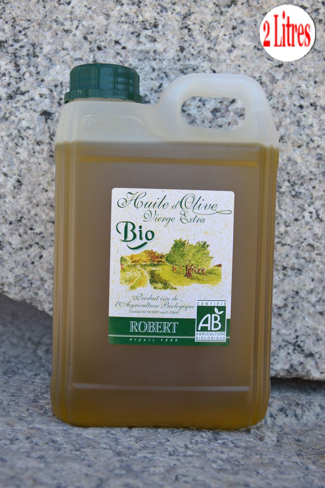 Huile d'olive biologique ROBERTHuile d'olive biologique ROBERT