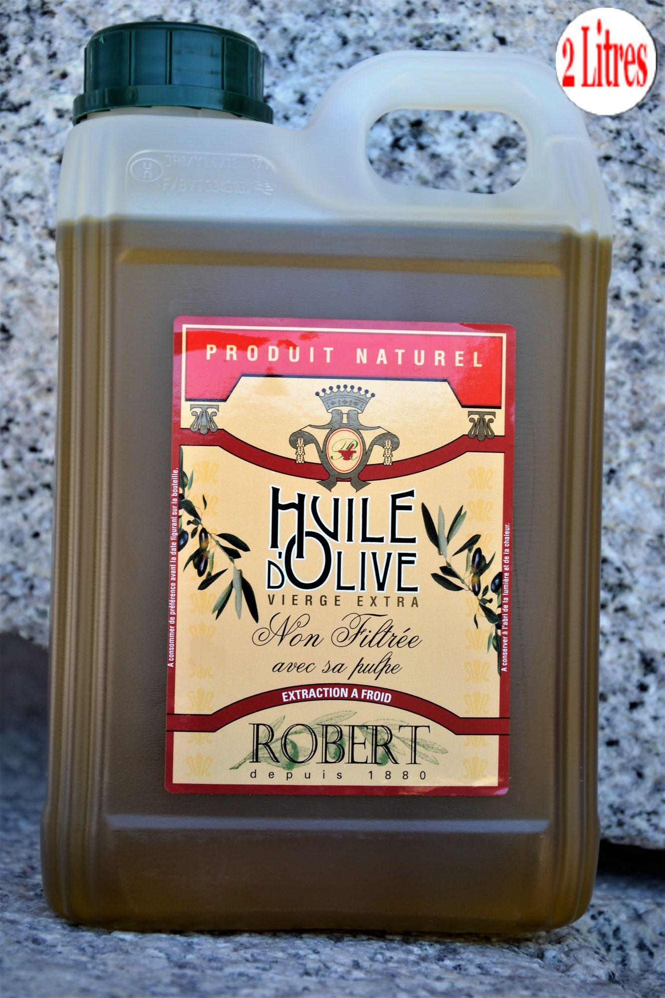 Huile d'olive non filtrée ROBERTHuile d'olive non filtrée ROBERT