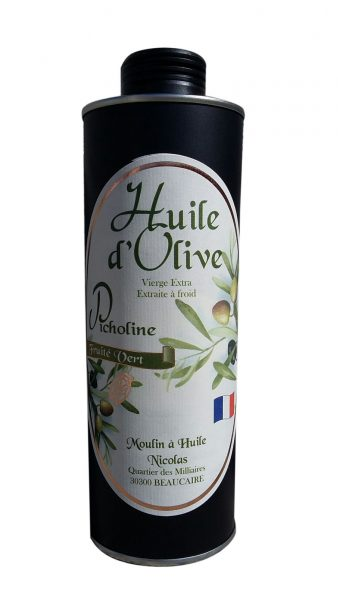 Huile d'olive vierge extra « Picholine » Métal