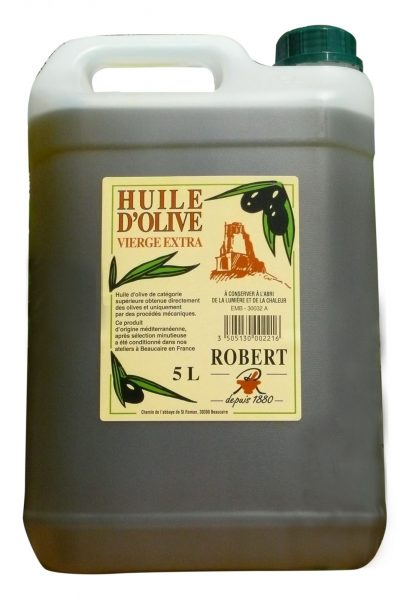 Huile d'olive vierge extra « douce »