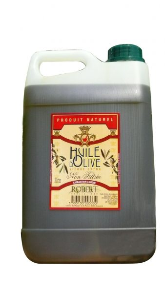 Huile d'olive vierge extra « non filtrée »