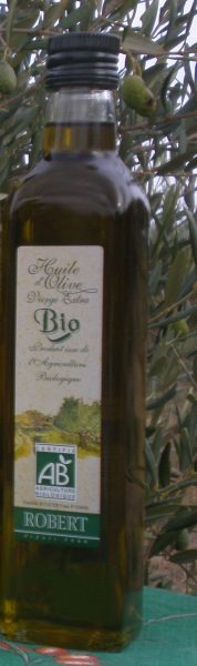 Huile d'olive BIO filtrée