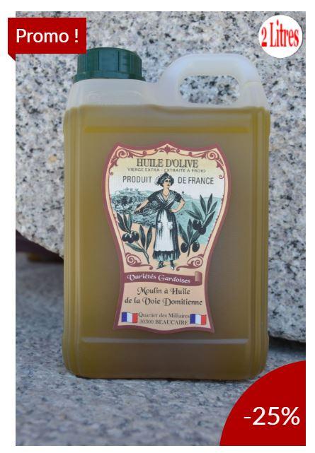 Huile d'olive Mireille en promotion