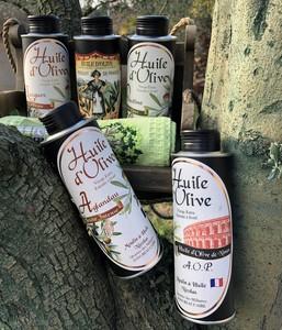Coffret prestige huile d'olive