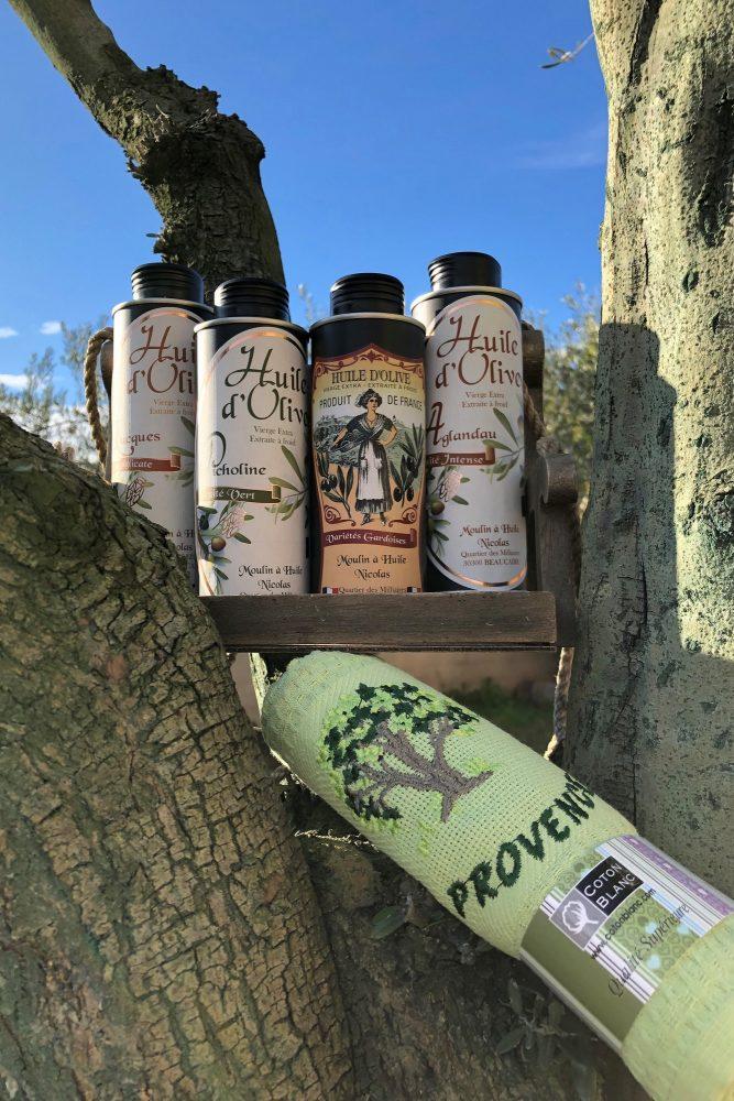 découverte huile d'olive
