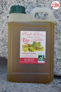 Offre avril l'huile d'olive Bio non filtrée Robert