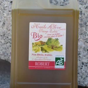 Offre avril l'huile d'olive Bio non filtrée