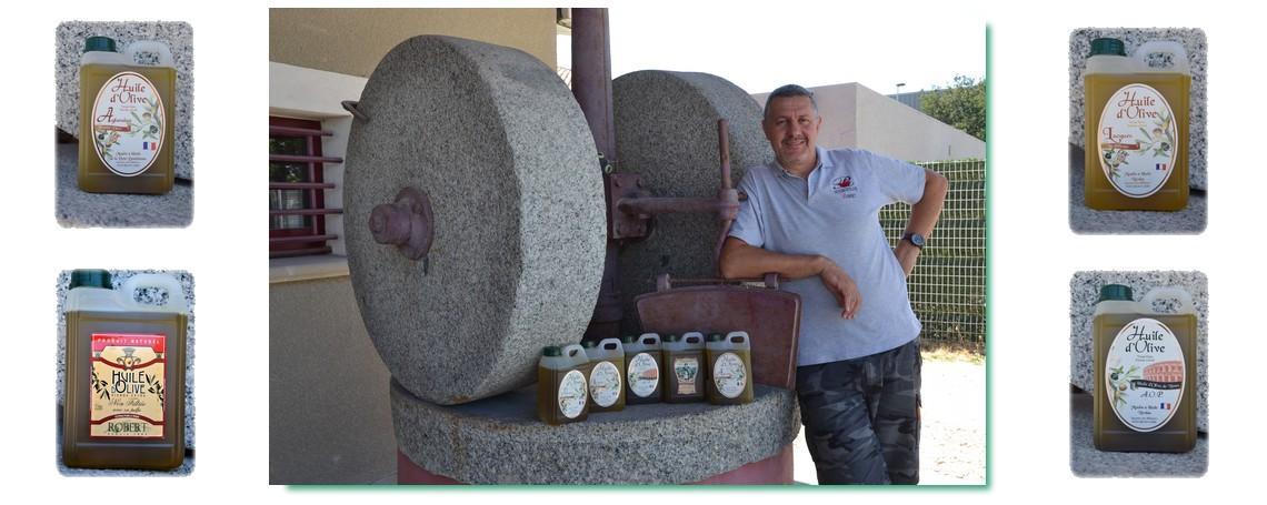 """Choisissez """"votre"""" huile d'olive, douceur de la Lucques, force de la Picholine, caractère marqué de l'AOP de Nîmes."""