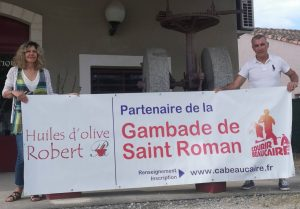 Les huiles ROBERT partenaires fidèles de Courir à Beaucaire