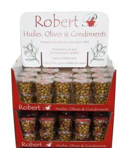 Nouveau ! les quart box empilables d'olives Robert !